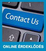 Online érdeklődés